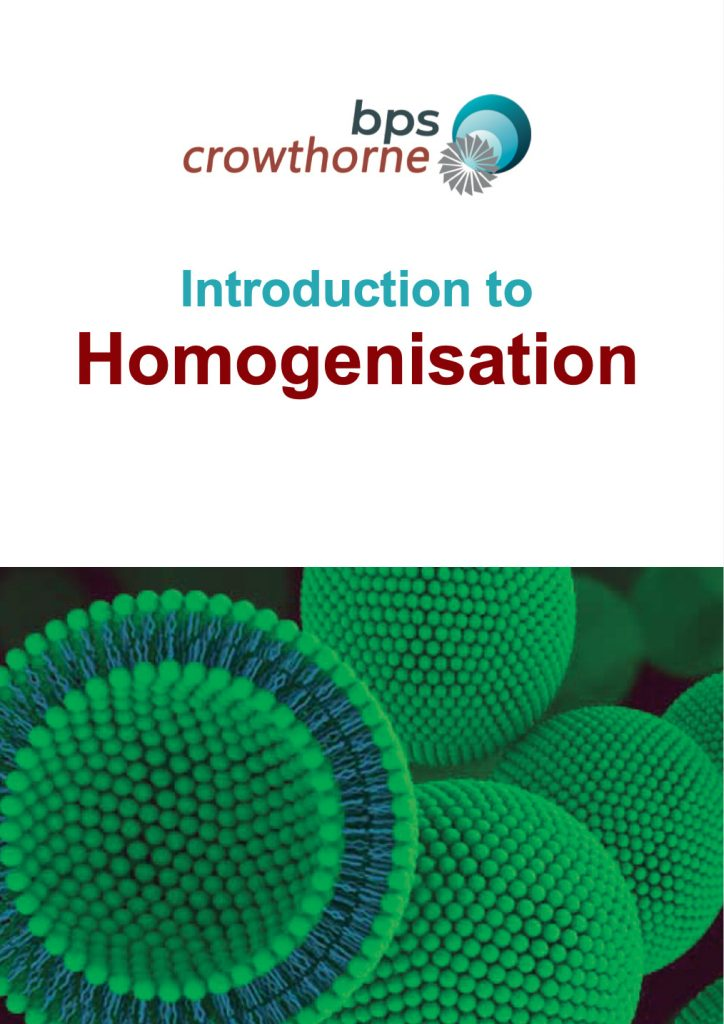 Introduction to High Pressure Homogenisation